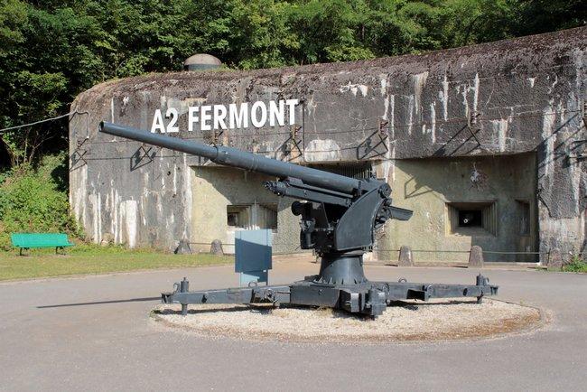 Festungswerk Fermont von der Maginot Linie