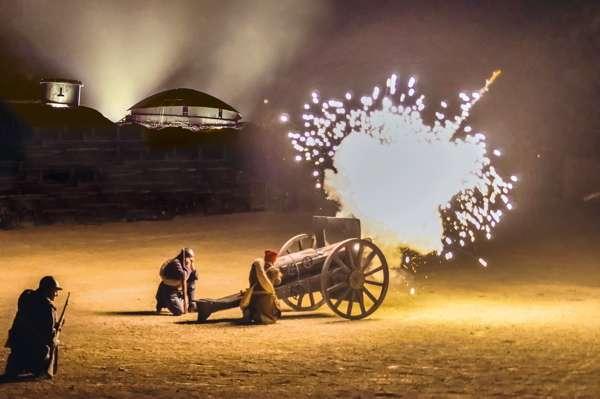 Die  Event-Show «Von den Flammen … zum Licht»