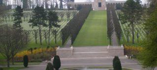Der amerikanische Militärfriedhof Meuse-Argonne